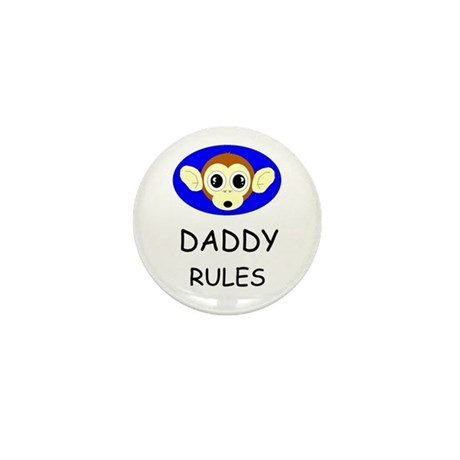 DADDY RULES Mini Button (10 pack)