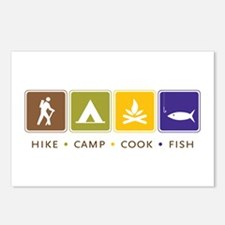Outdoor Camping Postcards (Package of 8)