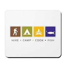Outdoor Camping Mousepad