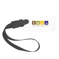 Outdoor Camping Luggage Tag