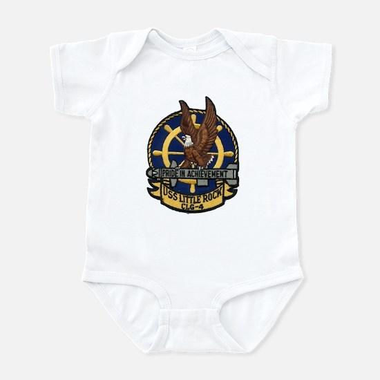 USS LITTLE ROCK Infant Bodysuit
