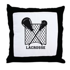 Lacrosse by Other Sports & Stuff LLC Throw Pillow