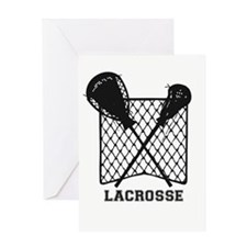 Lacrosse by Other Sports & Stuff LL Greeting Cards