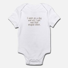 Stupid Chert Field Tech Humor Infant Bodysuit