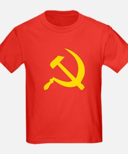 Hammer and Sickle Kids Soviet Red T-Shirt