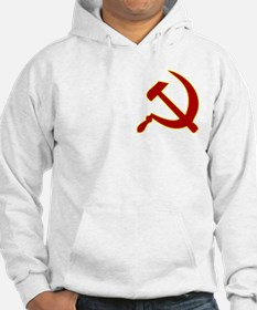 Hammer and Sickle White Hoodie