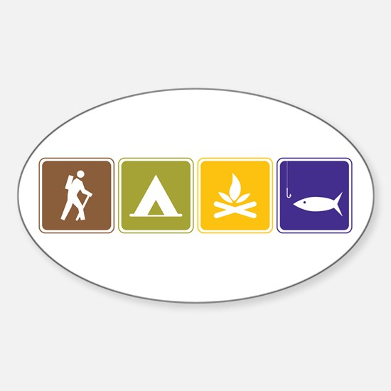 Outdoors Bumper Stickers