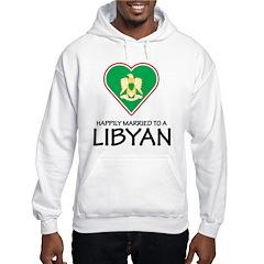 Happily Married Libyan Hooded Sweatshirt