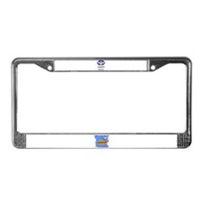 DADDY RULES License Plate Frame