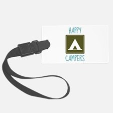 Happy Campers Luggage Tag
