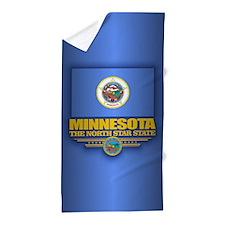 Minnesota (v15) Beach Towel
