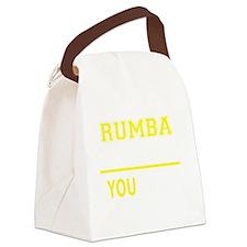 Unique Rumba Canvas Lunch Bag