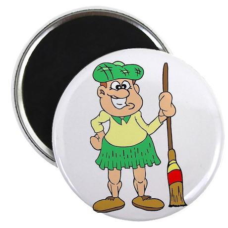 """Scottish Curler"" Magnet"