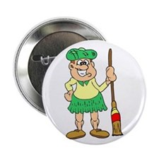 """Scottish Curler"" 2.25"" Button (10 pack)"