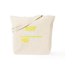 Cute Ruffed Tote Bag