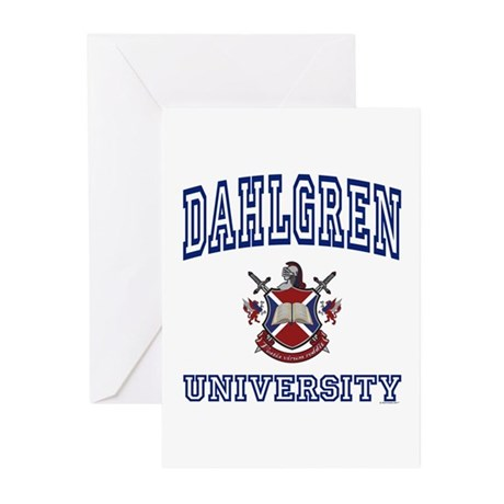 DAHLGREN University Greeting Cards (Pk of 10)