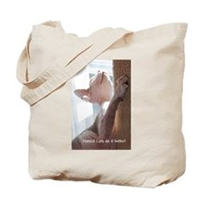 Nakkid Cat's do it better! Tote Bag