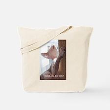 Nakkid Cat's do it better! Tote Bag