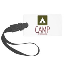 Risky Camping Luggage Tag