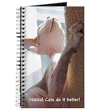 Nakkid Cat's do it better! Journal