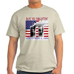 September 11th Forgotten? Ash Grey T-Shirt