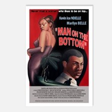 MAN ON THE BOTTOM Postcards (Package of 8)