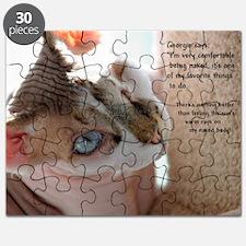 Georgie the Sphynx Puzzle
