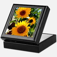 Sunflowers Old Town Albuquerque Keepsake Box