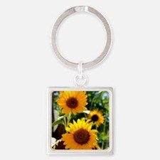 Sunflowers Old Town Albuquerque Keychains