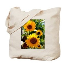 Sunflowers Old Town Albuquerque Tote Bag