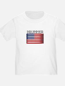 Drummer USA Flag Drumsticks T