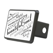 Positive Thinking Text Hitch Cover