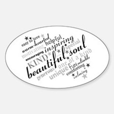 Positive Thinking Text Decal