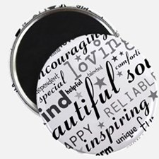 Positive Thinking Text Magnets