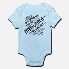 Positive Thinking Text Body Suit