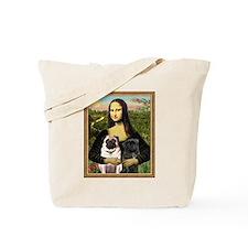 Mona Lisa (new) & Pug Pair Tote Bag