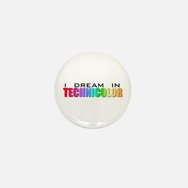 Technicolor Dreamcoat Mini Button