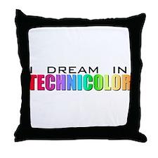 Technicolor Dreamcoat Throw Pillow