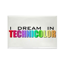 Technicolor Dreamcoat Rectangle Magnet