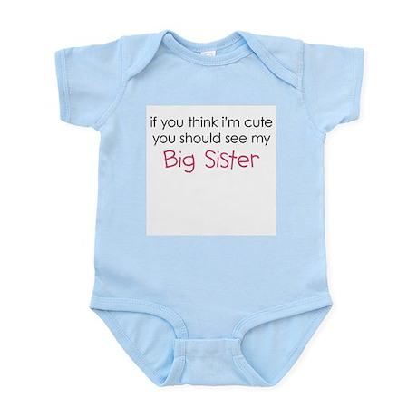 Cute Big Sister - Infant Bodysuit