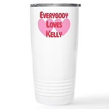 Unique Love everybody Travel Mug