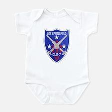 USS SPRINGFIELD Infant Bodysuit