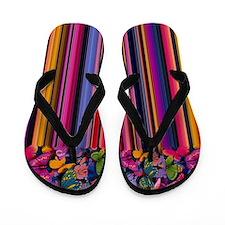 butterflies Flip Flops