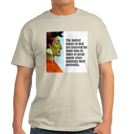 """Dante """"Hottest Places"""" Light T-Shirt"""