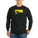 Vanishing Train Long Sleeve Dark T-Shirt
