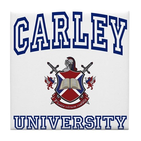 CARLEY University Tile Coaster