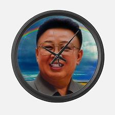 Funny Korea Large Wall Clock