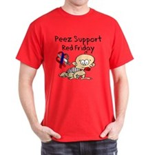 Peez Support Red Friday T-Shirt