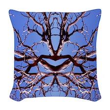 Kama Sutra Tree Woven Throw Pillow
