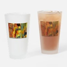 Paul Klee In The Style Of Kairouan Drinking Glass